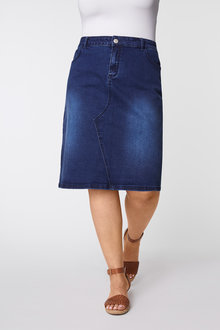 Sara Denim skirt - 252355