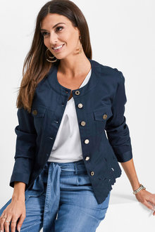 Euro Edit Broidery Jacket - 252369