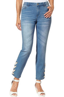 Euro Edit Hem Detail Jean - 252371