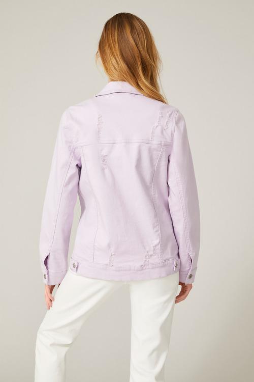 Emerge Oversized Distressed Jacket