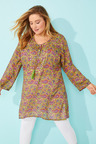 Sara Long Trim Tunic