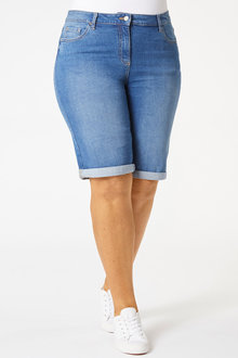 Sara Denim Short - 252385