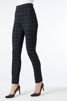 Capture Ponte Slim Zip Detail Pant - 252397