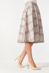Capture Ponte Flared Skirt