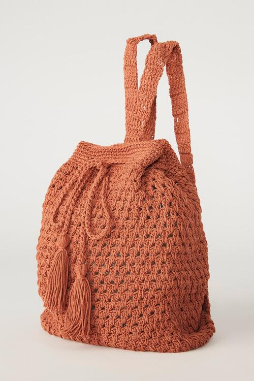 Accessories Backpack crochet bag
