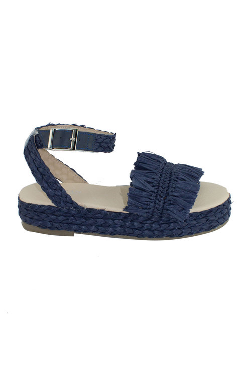 Human Premium Rosewood Espadrille Sandal