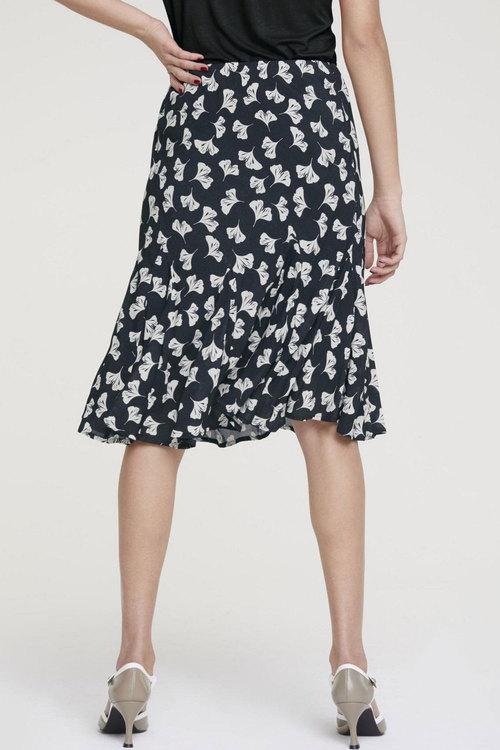 Heine Printed Flippy Skirt