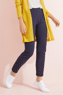 Capture Print Bengaline Pull On Pants - 252470