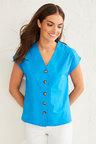 Emerge Organic Cotton Button Up Shirt