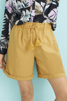 Capture Linen Blend Drawcord Short