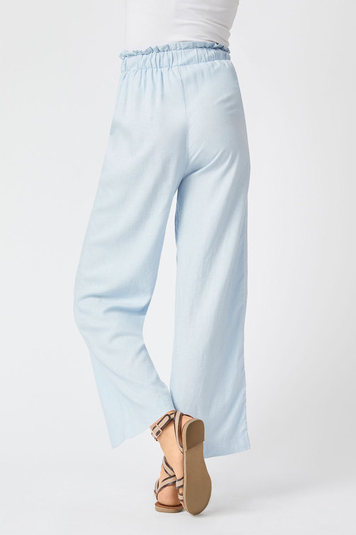 Emerge Linen Elastic Waist Pant