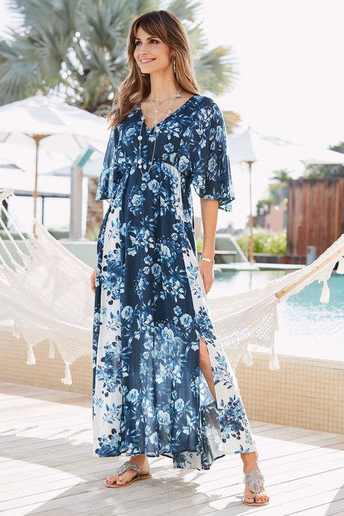European Collection Floral Dress