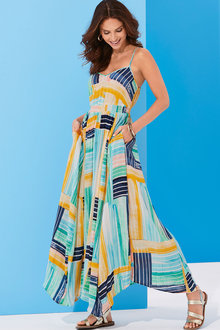 Kaleidoscope Summer Maxi Dress - 252506