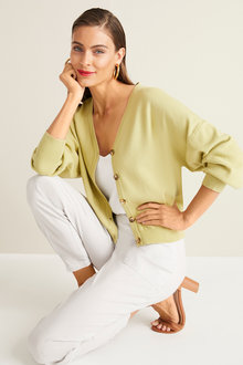 Grace Hill V Neck Cardigan - 252533