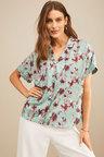 Grace Hill Silk Blend Short Sleeved Shirt