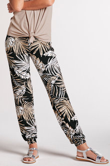 Heine Printed Jersey Jogger - 252543