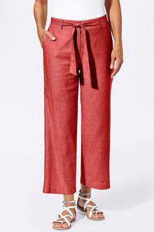 Euro Edit Linen Trousers - 252545