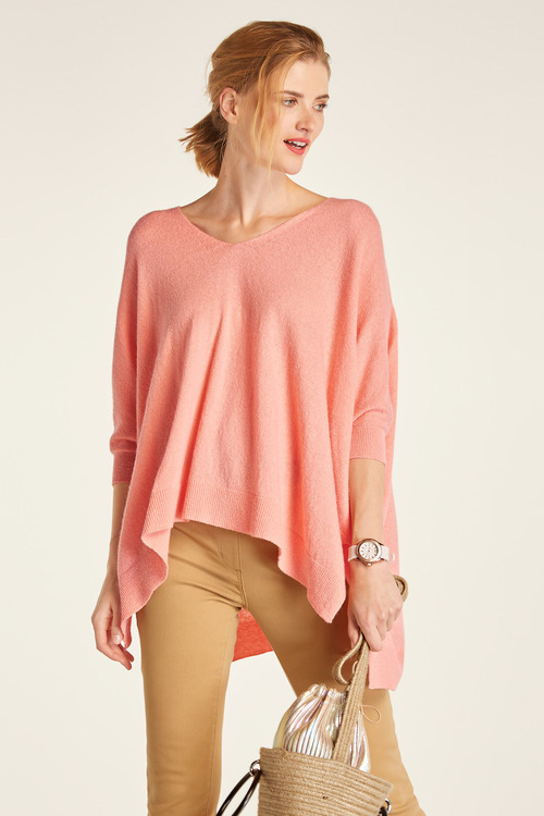 Capture Knit Poncho Top