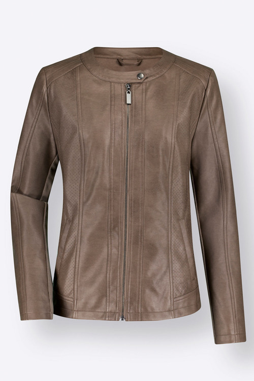 Euro Edit PU Jacket