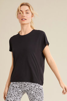 Isobar Active Open Back Tee - 252587