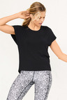 Isobar Active Open Back Tee