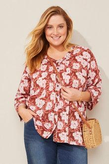 Sara Classic Shirt - 252637