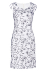 Euro Edit Printed Shift Dress