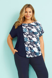 Sara Spliced Top - 252646