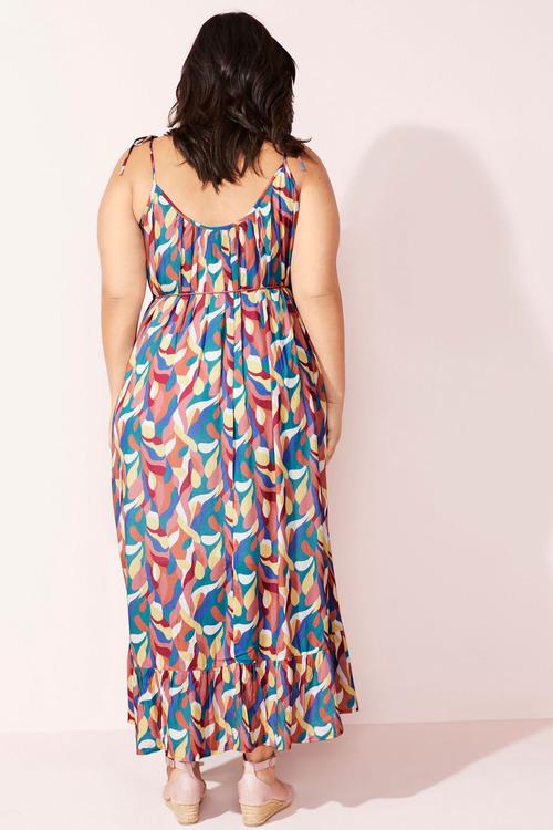 Sara Crinkle Maxi Dress
