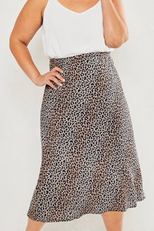 Sara Bias Cut Skirt - 252651