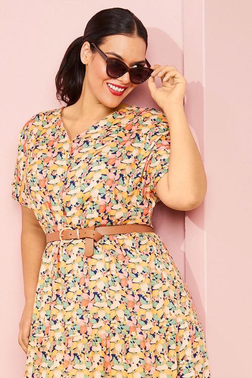 Sara Tiered Dress