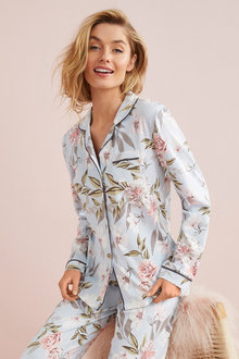 Mia Lucce Long Sleeve PJ Top - 252660