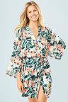 Mia Lucce Allover Printed Robe