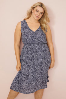 Mia Lucce Wrap Front Sleeveless Nightie - 252668