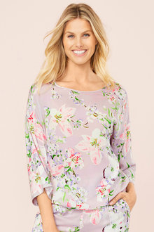 Mia Lucce Allover Printed PJ Top - 252677
