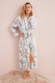 Mia Lucce Cotton Jersey Robe - 252684