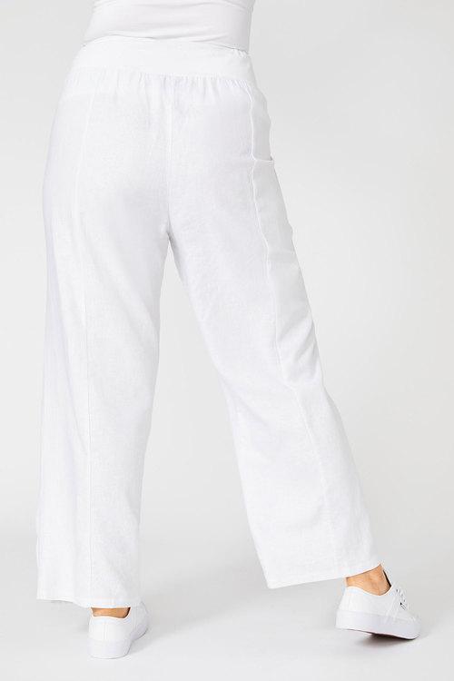 Sara Slouchy Linen Pant