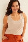 Sara Linen Knit Tank