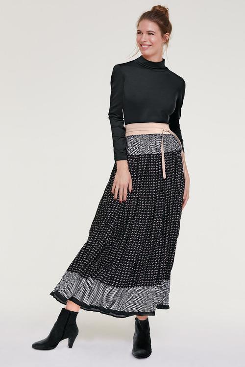 Heine Crinkle Effect Skirt