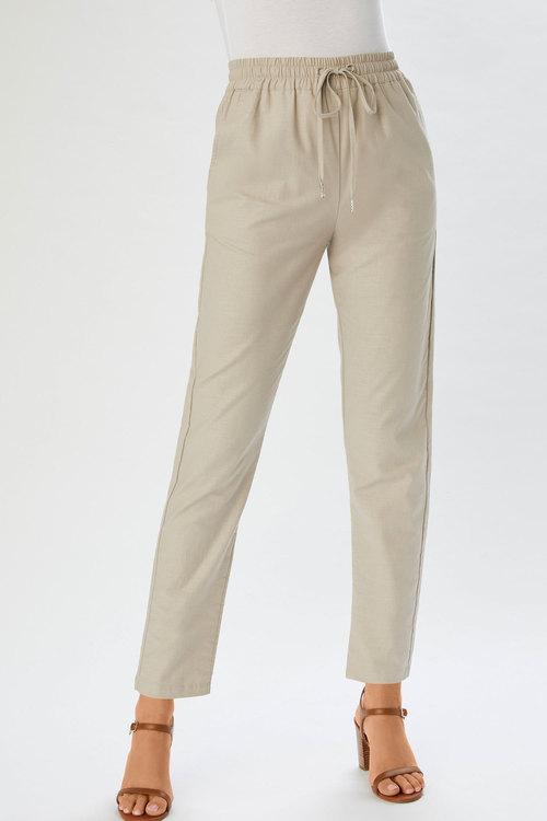 Capture Linen Cuffed Pant