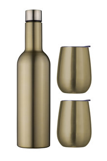 Avanti Double Wall Insulated Wine Traveller Set - 252807