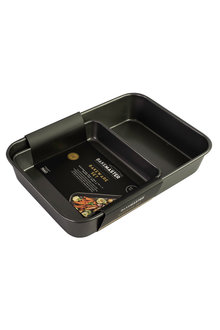 Bakemaster Bakeware Twin Pack (Roasting Pan/ Square Bake Pan) - 252820