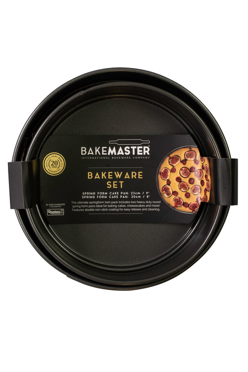 Bakemaster Cake Pan Twin Pack