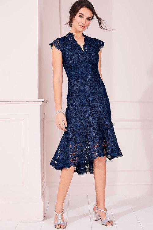 Kaleidoscope Lace Dress