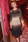 Kaleidoscope Ombre Shirred Dress