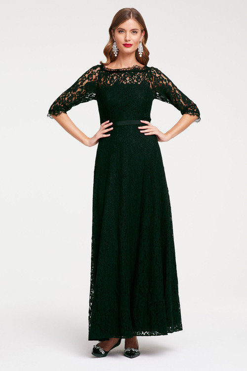 Heine Evening Dress with Lace
