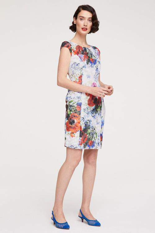 Heine Burnout Printed Shift Dress