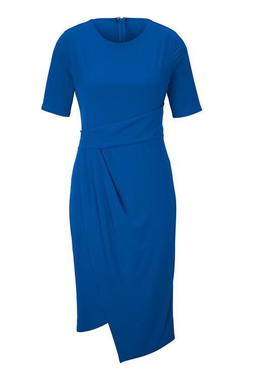 Heine Jersey Dress with Wrap Look