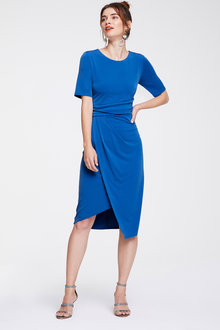 Heine Jersey Dress with Wrap Look - 252917