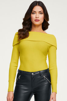 Heine Off The Shoulder Jumper - 252933